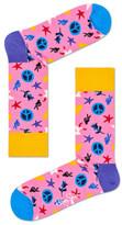Happy Socks Peace & Love Sock