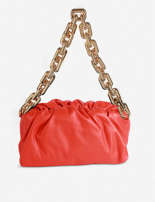 Bottega Veneta The Chain Pouch leather clutch bag