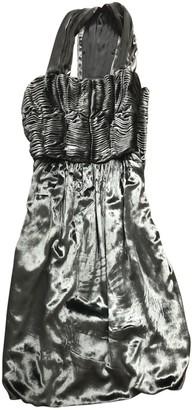 Sophia Kokosalaki Green Velvet Dress for Women