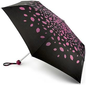 Lulu Guinness Minilite 2 Raining Lips Pink Umbrella