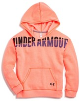 Under Armour Girls' Favorite Fleece Hoodie - Sizes XS-XL