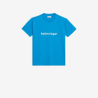 Balenciaga New Copyright Fitted T-Shirt