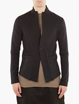 Thom Krom Black Raw Seam Blazer