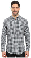 U.S. Polo Assn. Long Sleeve Dobby Check Button Down Sport Shirt