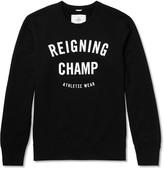 Reigning Champ - Printed Cotton-jersey Sweatshirt