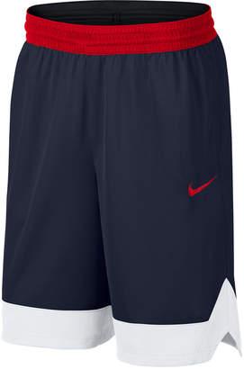 Nike Men Dri-fit Colorblocked Basketball Shorts
