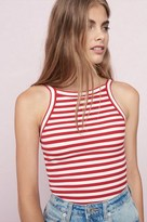 Garage Straight Back Sport Neck Cami