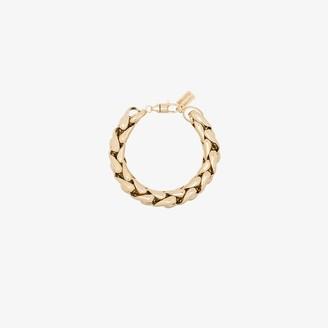 LAUREN RUBINSKI 14K yellow gold chain bracelet