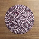 Crate & Barrel 4th of July Round Placemat