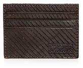 John Varvatos Leather Card Case