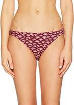 Fat Face Women's Abstract Shell Loop Bikini Bottoms