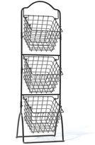 Mikasa Gourmet Basic 3-tier Wire Market Basket