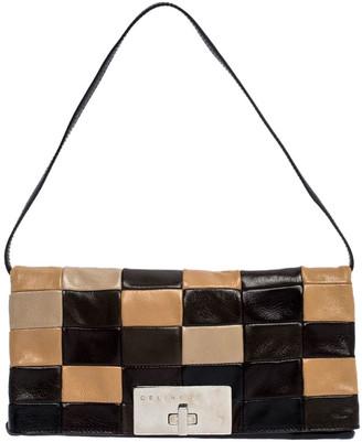 Celine Multicolor Leather Watch Me Dance Clutch Bag