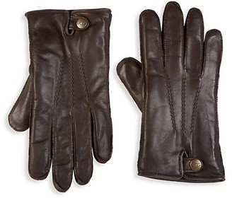 UGG Metisse Leather Faux Fur Tech Gloves