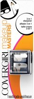 Cover Girl Makeup Masters 3-in-1 Pencil Sharpener, 1 Count
