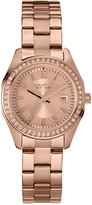 Bulova Caravelle New York by Women's Rose Gold-Tone Stainless Steel Bracelet Watch 28mm 44M103