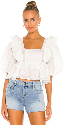 Rhode Resort Charlotte Blouse
