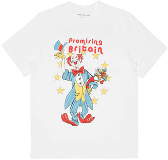 Martine Rose Clown Artwork T-shirt