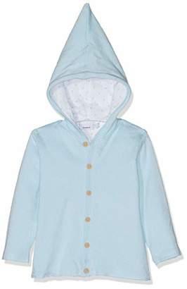 Name It Baby Nbndesil Ls Knit Jacket Blue Skyway