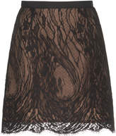 Andrew Gn Lace Mini Skirt