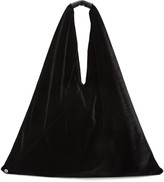 MM6 MAISON MARGIELA Black Velvet Tote