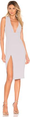 superdown Rayhana High Slit Dress