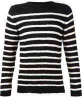 The Elder Statesman cashmere striped sweater