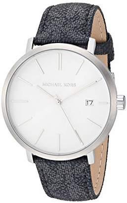Michael Kors Men's Blake Stainless Steel Quartz Watch with Plastic Strap