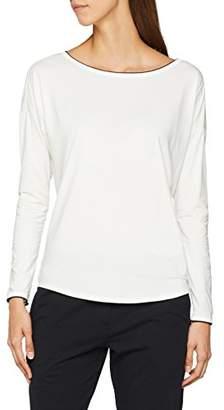 Marc O'Polo Body & Beach Women's Mix W-Shirt LS Crew-Neck Pyjama Top,UK