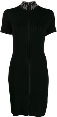 MICHAEL Michael Kors zipped knitted dress