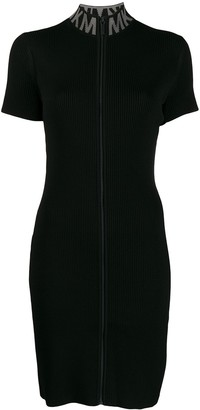 MICHAEL Michael Kors Zipped Knitted Dress