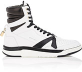 Buscemi Men's 150MM Leather High-Top Sneakers-WHITE, BLACK
