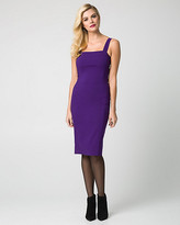 Le Château Bengaline Square Neck Dress