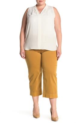 Sanctuary Wide Leg Cropped Pants (Plus Size)