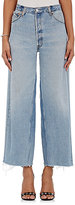 RE/DONE Women's The High Rise Wide Leg Jeans-BLUE