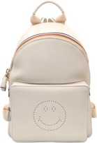 Anya Hindmarch Smiley Sporty Stripes Mini Backpack