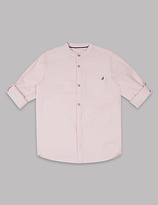 Autograph Pure Cotton Striped Shirt (3-14 Years)
