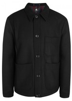 Ps By Paul Smith Ps By Paul Smith Black Wool Blend Jacket
