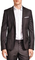 The Kooples Hidden Wool Slim Fit Blazer
