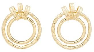 Alican Icoz All Bronze + Attico earrings