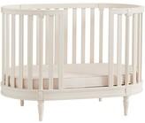 Pottery Barn Kids Blythe Oval Toddler Bed Conversion Kit, Vintage Simply White