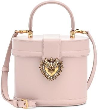 Dolce & Gabbana Devotion leather bucket bag
