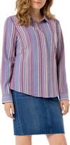 Liverpool Stripe Button Back Shirt