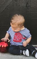 Ily Couture Santa Baby Tee - Kids
