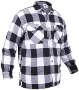 Rothco Men's Extra Heavyweight Brawny Sherpa-lined Flannel Shirts