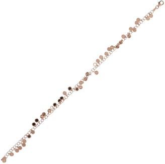 "Italian Silver 9"" Diamond Cut Disc Ankle Bracelet"