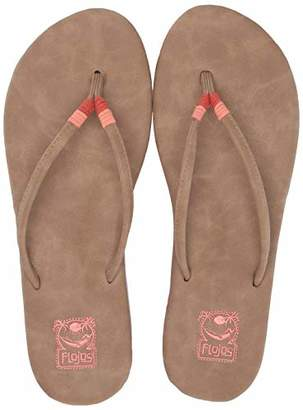 Flojos Women's MINA Flip-Flop 6.0 Medium US