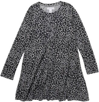 Harper Canyon Printed Long Sleeve Swing Dress