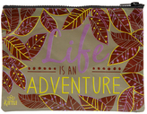 Leaves 'Life Is an Adventure' Cosmetic Bag