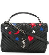 Saint Laurent medium Monogram Collège satchel bag - women - Leather - One Size